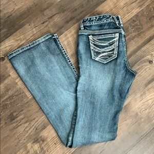 Maurice's Brand Boot Cut Jeans Size 7/8 XLong